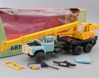 ЗИL-133 КС-3575А Автокран, голубой / желтый