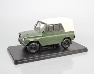 УАЗ-469Б, Легендарные Советские Автомобили 16, зеленый