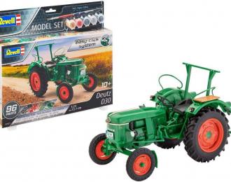 Сборная модель Трактор Deutz D30 (подарочный набор)