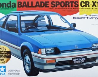 Сборная модель Honda Ballade Sports CR-X 1.5i