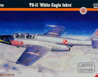 "Сборная модель Самолет TS-II ""White Eagle Iskra"""
