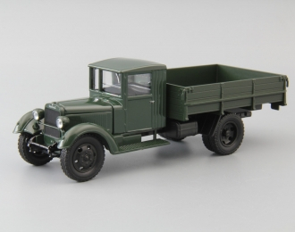 УралЗИС-355 бортовой, темно-зеленый
