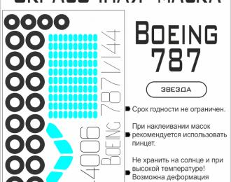 Окрасочная маска для Boeing 787 (Звезда)