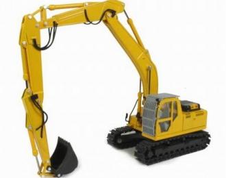 NH E215B Long boom, yellow