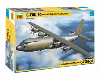 Сборная модель Американский военно-транспортный самолет С-130J-30