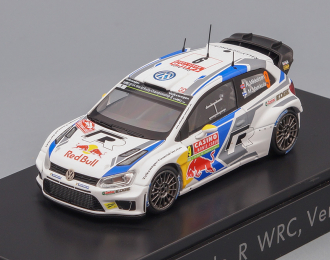 VOLKSWAGEN Polo R WRC #9 Rally Monte Carlo 2014 Mikkelsen, white