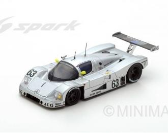 MERCEDES-BENZ SAUBER C9 #63 Winner Le Mans J. Mass - S. Dickens - M Reuter (1989), white