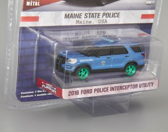 "FORD Police Interceptor Utility ""Maine State Police"" 2016 (Greenlight!)"