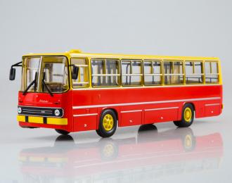 Икарус-260, жёлто-красный