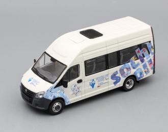 (Конверсия!) ГАЗель Next A65R32 Sochi 2014, белый / синий