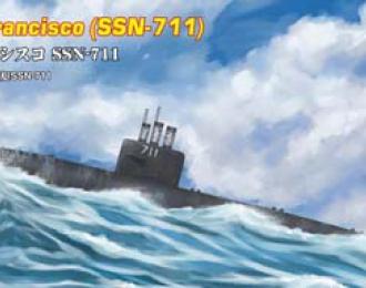 Сборная модель Подводная лодка USS San Francisco SSN-711
