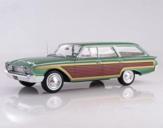 Ford Country Squire 1960 metallic green