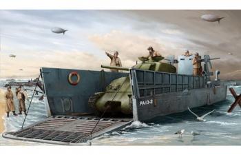 Сборная модель Американское десантное судно LCM 3