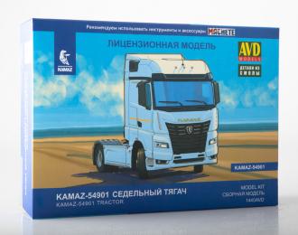 Сборная модель КАМАЗ-5490