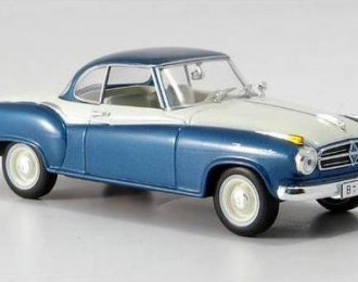 BORGWARD Isabella coupe, синий с белым