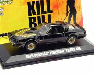 "PONTIAC Firebird Trans Am из к/ф ""Kill Bill"" (1979), black"