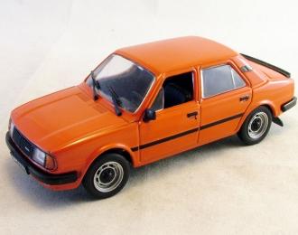 SKODA 120 LS, Автолегенды СССР 153, оранжевый