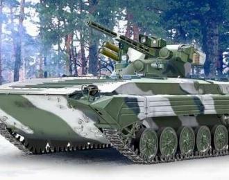 Сборная модель Бронемашина БМП-1У Шквал
