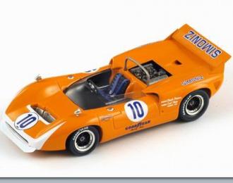 LOLA T70 MK 3 №10 Can-Am (Chuck Parsons) 1968, orange