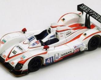 ZYTEK Nissan Greaves Motorsport 41 Победитель LMP2 2011 K. Ojjeh - T. Kimber-Smith - O. Lombard, white