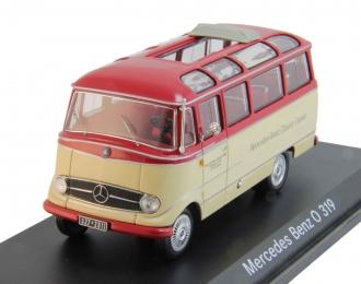 "МERCEDES-BENZ O319 bus ""Mercedes-Benz Classic Center"", red / beige"