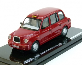 LONDON TAXI CAB TX1 (1998), red
