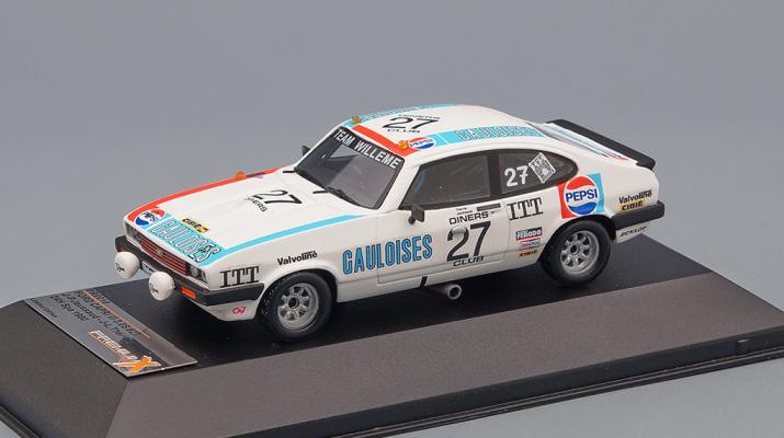 FORD Capri III 3.0S #27 J-P. Jaussaud - J-L. Thrier 24H Spa (1980), white