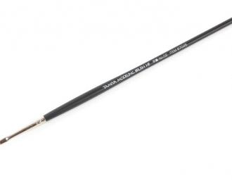 Кисточка плоская ширина 2мм (синтетическое волокно), класс High Finish
