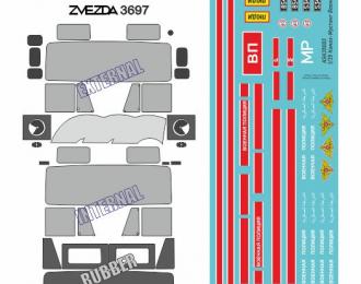 Набор для деталировки модели Камский грузовик 5350 Мустанг (Звезда)