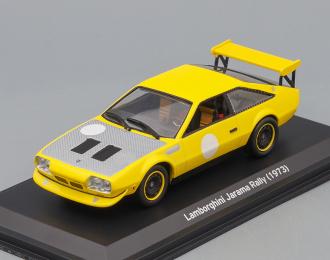 (Уценка!) LAMBORGHINI Jarama Rally (1973), yellow / grey
