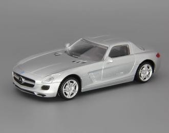 (Уценка!) MERCEDES-BENZ SLS AMG, silver