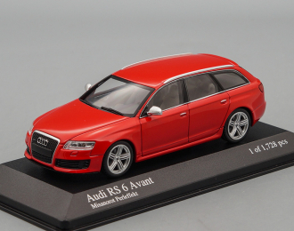 AUDI RS 6 Avant (2007), red metallic