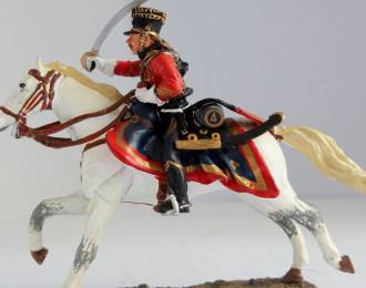 Officer French Hussars 1807