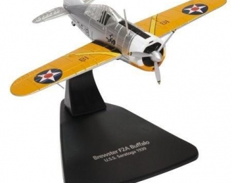 "Brewster F2A ""Buffalo"" авианосец USS ""Saratoga"" 1939"