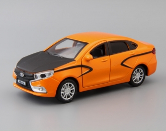 LADA Vesta, orange
