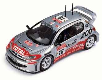 PEUGEOT 206 WRC #16 H.Panizzi Winner Sanremo (2001)