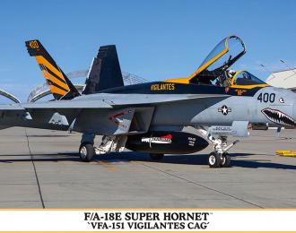 """Сборная модель Истребитель F/A-18E Super Hornet """"VFA-151 Vigilantes CAG"""" Limited Edition"""