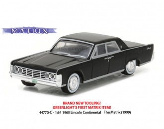 "LINCOLN Continental из к/ф ""Матрица"" (1965), black"