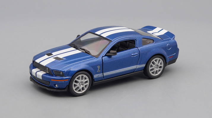 SHELBY GT500 (2007), blue