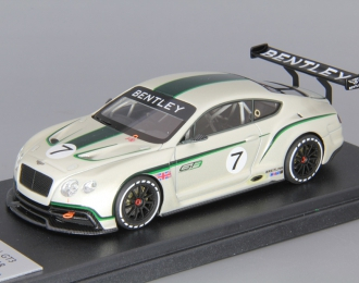 BENTLEY Continental GT3 Concept Race Car, pearl white
