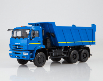 КАМАЗ-6522 самосвал, синий