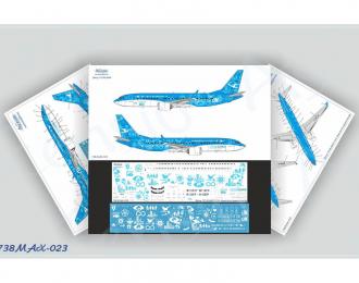 Декаль длл Boeing737-8 MAX, Xiamen Air