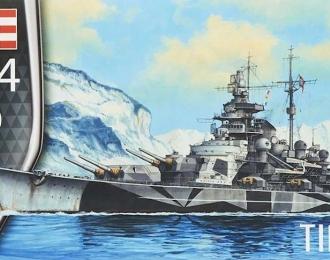 Сборная модель Немецкий линкор Tirpitz