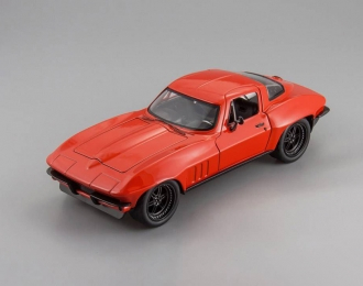 Chevrolet Corvette owned by Letty, red