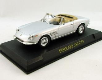 FERRARI 330 GTS, Ferrari Collection 40, silver