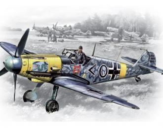 Сборная модель Bf 109F-2, германский истребитель II MB