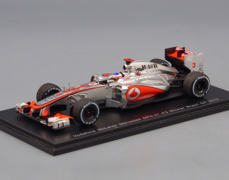 McLAREN MP4-27 №3 Winner Brazil GP (Jenson Button) 2012, silver