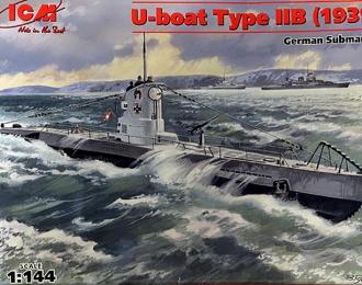 Сборная модель U-Boat Type IIB (1939) - Германская подводная лодка