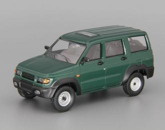 УАЗ 3162 Симбир (2000-2005), Автолегенды СССР 224, зеленый