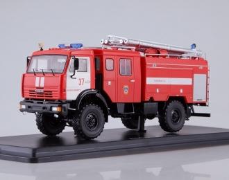 АЦ-3-40 (КАМАЗ-43502), красный